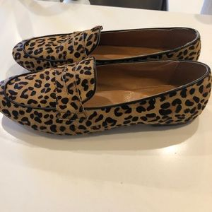 J. Crew Shoes - J Crew Cheetah Ballet Flats